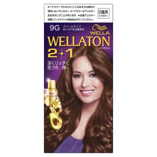 【送料込・まとめ買い×24個セット】 ウエラトーン 2+1クリームタイプ 9G 1個
