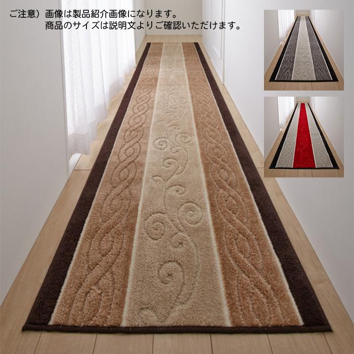 廊下 マット ステラ STELLA トルコ製生地 国産 65x700cm 三愛繊維