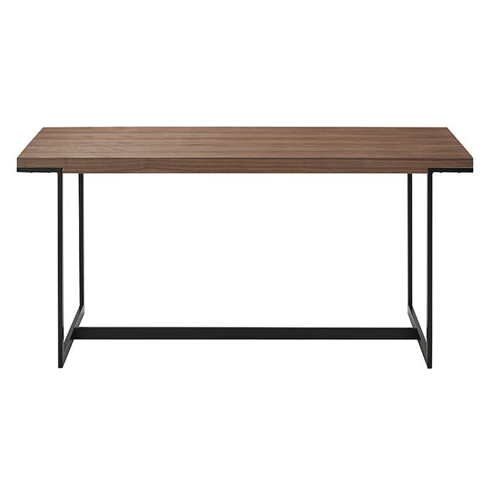 テーブル 食卓 木 有名な スチール 北欧 お見舞い インダストリアル ダイニングテーブル おしゃれ 幅1500x奥行750x高さ700mm 組立式 桜屋工業 DT-18-W150