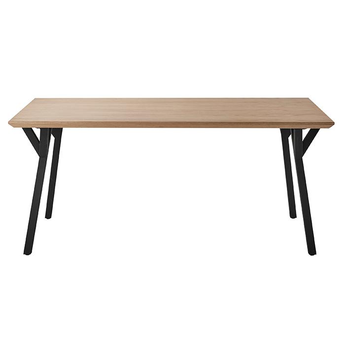 ダイニングテーブル 組立式 DT-22-N160 幅1600x奥行850x高さ700mm 桜屋工業