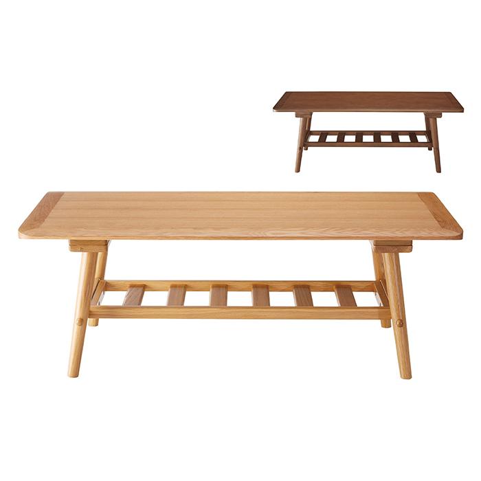 リビングテーブル LT-60-N110 組立式 幅1100x奥行500x高さ400mm 桜屋工業