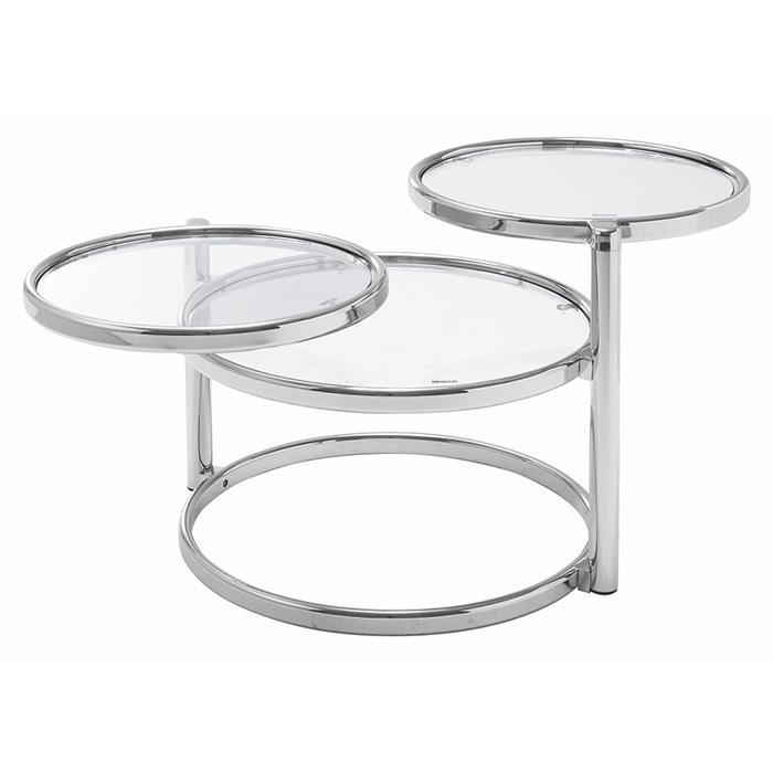 リビングテーブル LT-77 組立式 幅590(1380)x奥行500(845)x高さ435mm 桜屋工業