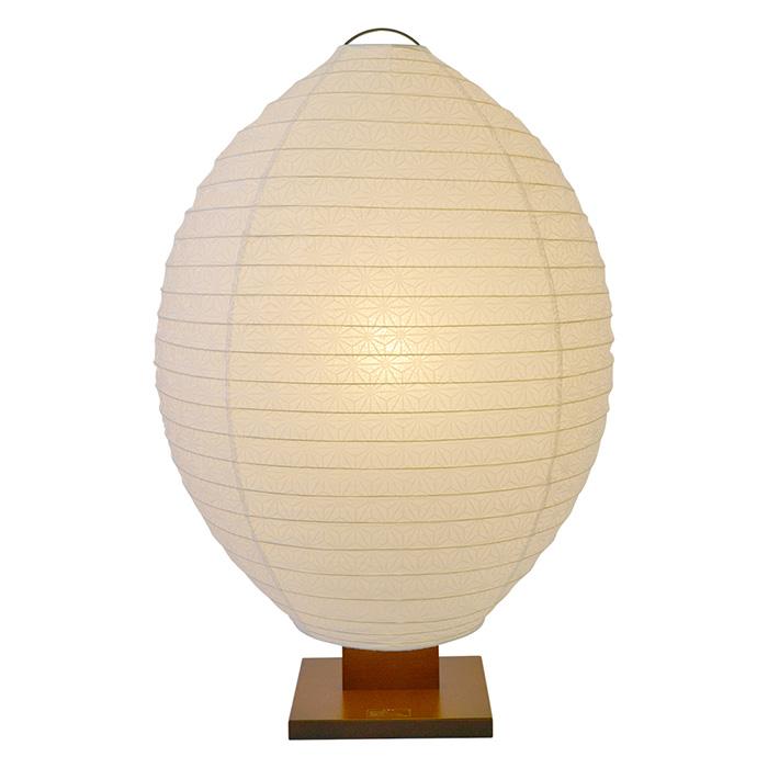 フロアライト 和紙 shell 極み麻葉 電球付属 幅550x奥行350x高さ830mm 彩光デザイン