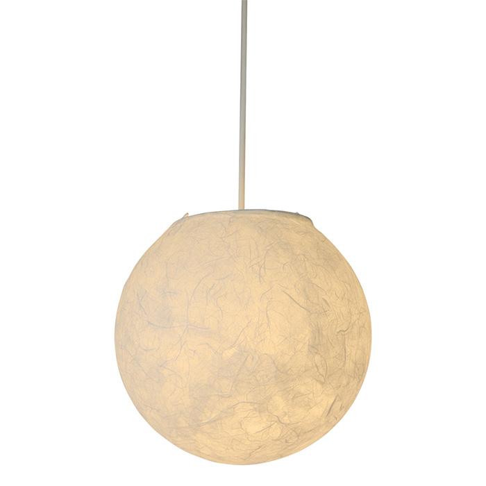 1灯 和紙 ペンダントライト balloon バルーン 電球付属なし シェードサイズ 幅260x奥行260x高さ250mm 彩光デザイン