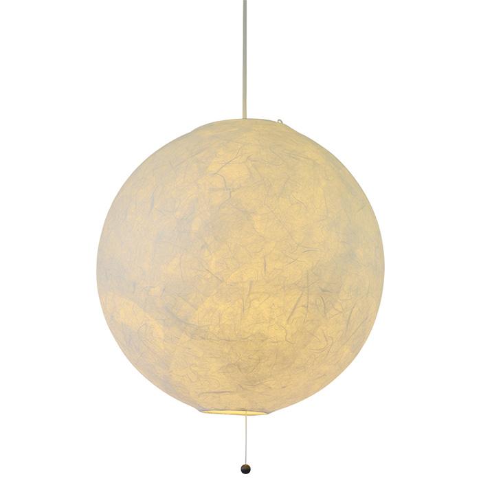 2灯 和紙 ペンダントライト balloon バルーン 電球付属なし シェードサイズ 幅450x奥行450x高さ430mm 彩光デザイン