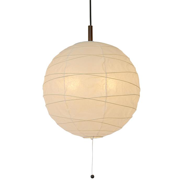 2灯 和紙 ペンダントライト cross 美濃紙 電球付属なし シェードサイズ 幅390x奥行390x高さ370mm 彩光デザイン