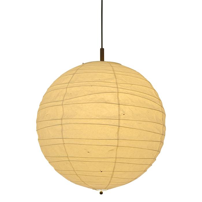 2灯 和紙 ペンダントライト wave 美濃粕紙 電球付属なし シェードサイズ 幅600x奥行600x高さ570mm 彩光デザイン