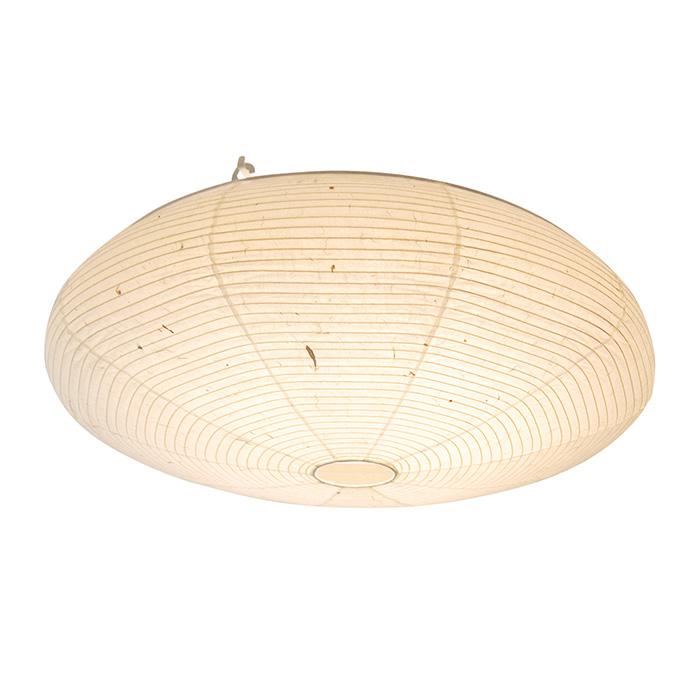 LEDシーリングライト 和紙 nest 美濃粕紙 幅590x奥行590x高さ180mm 彩光デザイン