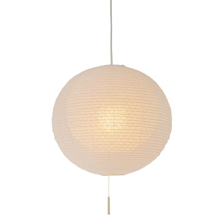 1灯 和紙 ペンダントライト bud 小梅白in小梅白 電球付属なし シェードサイズ 幅390x奥行390x高さ370mm 彩光デザイン