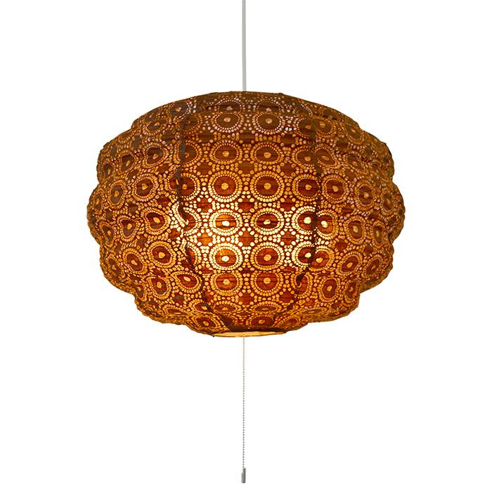3灯 和紙 ペンダントライト moco soraBR 電球付属なし シェードサイズ 幅460x奥行460x高さ330mm 彩光デザイン