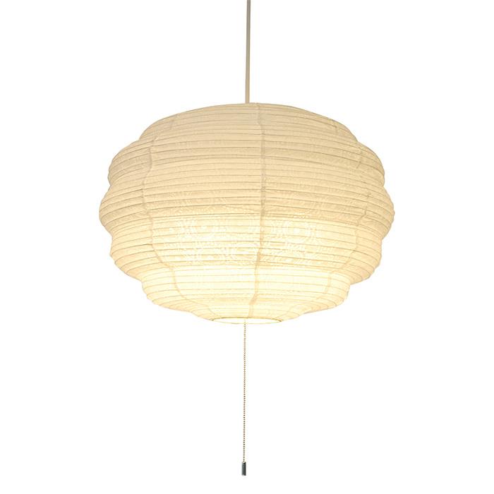 3灯 和紙 ペンダントライト moco soraWH 電球付属なし シェードサイズ 幅460x奥行460x高さ330mm 彩光デザイン