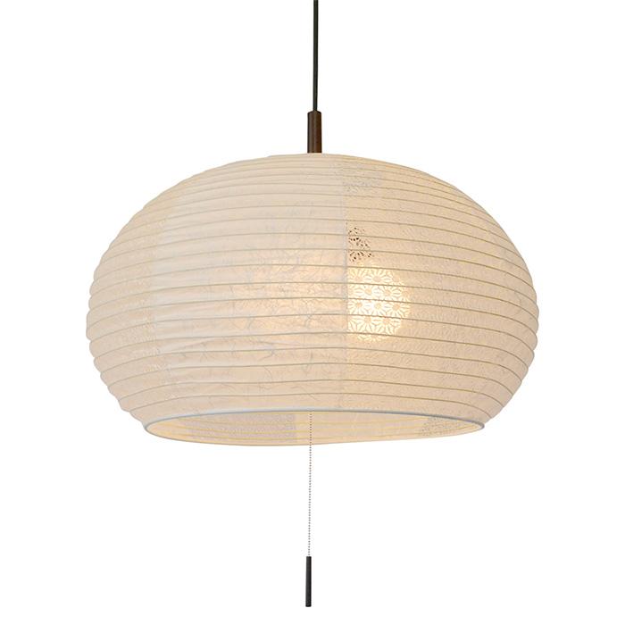 3灯 和紙 ペンダントライト swell 雲龍白×麻葉白 電球付属なし シェードサイズ 幅500x奥行500x高さ350mm 彩光デザイン