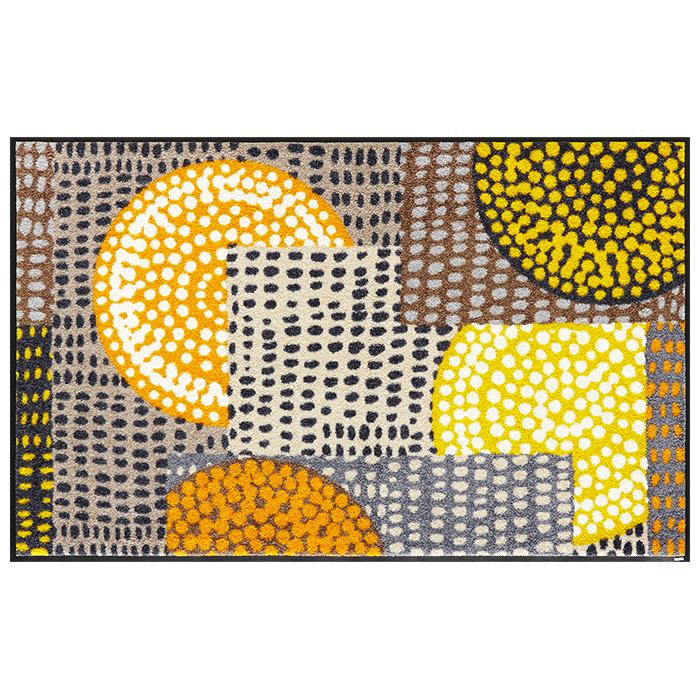マット Ethno Pop オレンジ C023B 75x120cm クリーンテックス