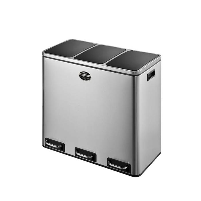 ゴミ箱 3-COMPARTMENT BIN 54 幅610x奥行355x高さ560mm ダルトン