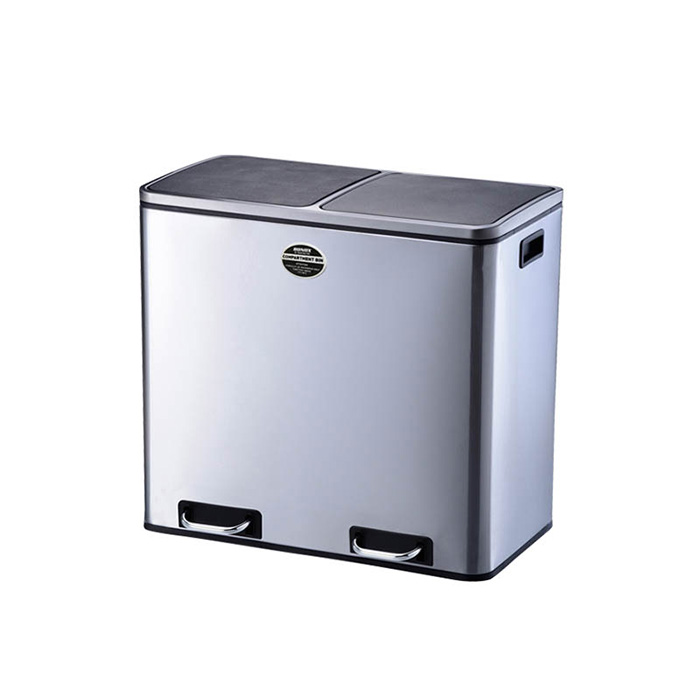 ゴミ箱 2-COMPARTMENT BIN 60 幅585x奥行360x高さ655mm ダルトン