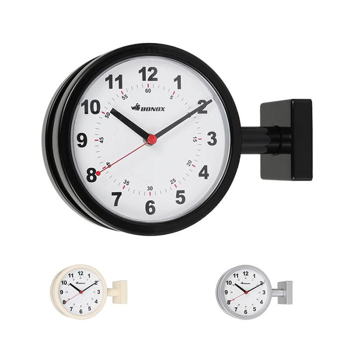 時計 両面 Double face clock 170D 室内用 幅285x奥行90x高さ205mm ダルトン