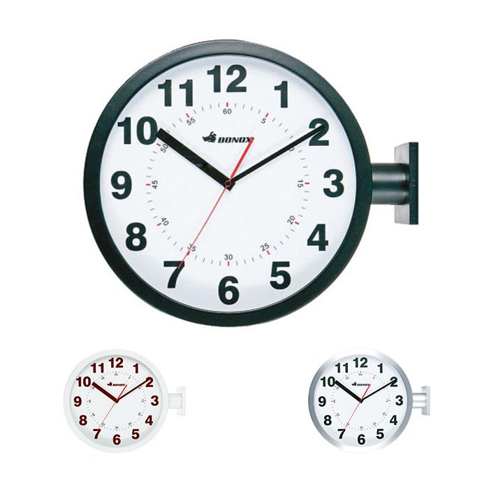 室内用 両面 時計 DOUBLE FACES WALL CLOCK 幅445x奥行130x高さ380mm ダルトン