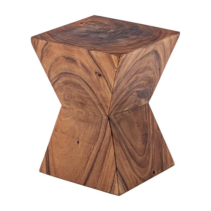 椅子 天然木 ジェラルド ウッド スツール JW-103 幅33x奥行33x高さ42cm 東谷