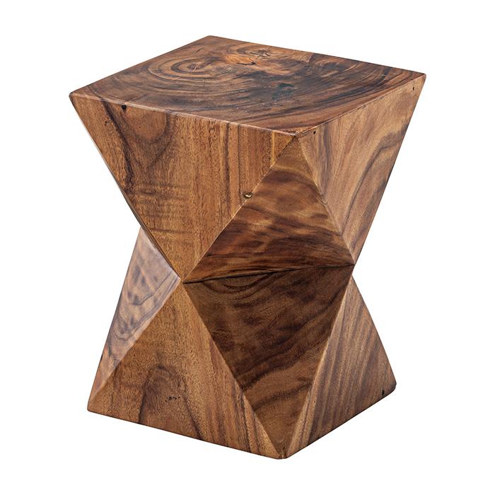 椅子 天然木 ジェラルド ウッド スツール JW-104 幅33x奥行33x高さ42cm 東谷