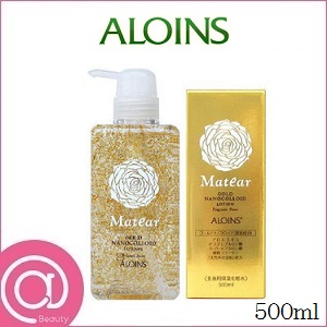 ALOINS 아로인스메이티아고르드로션 500 ml(전신용 보습 화장수/골드 화장품)