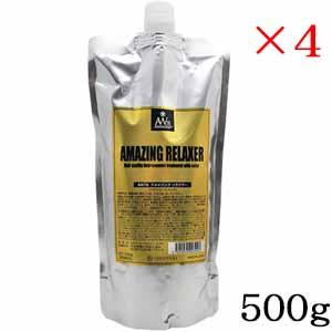 AMAZING トリートメント 酵素 ヘアケア ツヤ 処理剤 AW78 アメイジング リラクサー 500g ×4セット