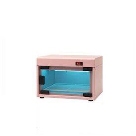 日鈑工業 卓上紫外線殺菌・保管庫 UV-180 ピンク