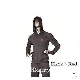 【正規品 ※※】BANDEL L バンデルスポーツ ストレッチウェアセットアップ Black×Red L ※※, 交換無料!:69043d07 --- sunward.msk.ru