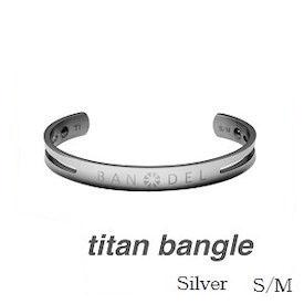 (正規品)バンデル チタン バングル Silver S/M