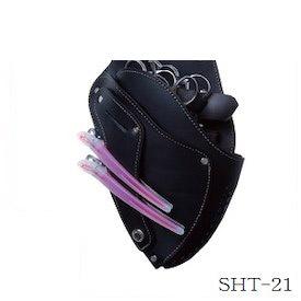 竹屋 タケヤ シザーハンズ SHT-21 5丁用 ブラック(シザーケース/美容/サロン/ヘアケア)