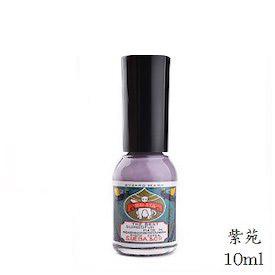 上羽絵惣 胡粉ネイル 10ml 紫苑 (しおん) (紫/パープル/さつまいも/マニキュア)