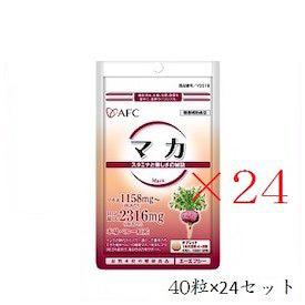 (セット)エーエフシー 500円シリーズ マカ 40粒×24セット