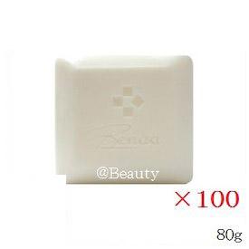 (×100セット)ベノア 洗顔石鹸 ヒアルロン酸ソープ 80g