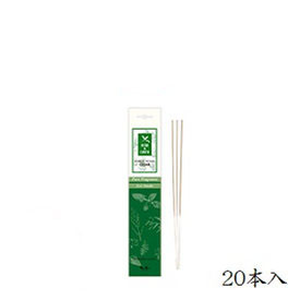 日本香堂 ハーブ+アース セダー 20本入 (お香)