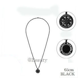 (正規品)バンデル チタン ネックレス ラージ Black 65cm