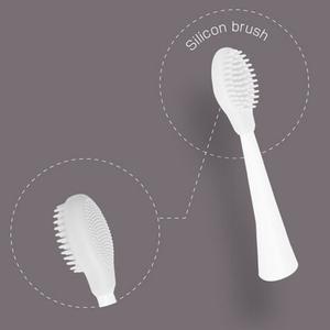 電動歯ブラシ付属品 密集極細毛ブラシ 歯石 歯垢 除去 表情筋 直輸入品激安 新作通販 ORALUMINAUS シリコンブラシ 単品 オーラルミナス モウズ エクササイズ