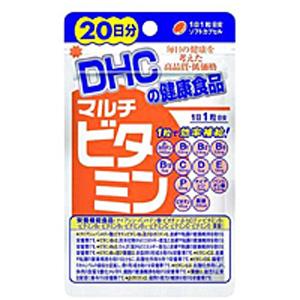 DHC サプリメント 待望 マルチビタミン ビタミン 美容サプリ 健康サプリ 通販 ビタミンC 新品未使用正規品 ビタミンB ビタミンP 栄養補助食品 20日分20粒