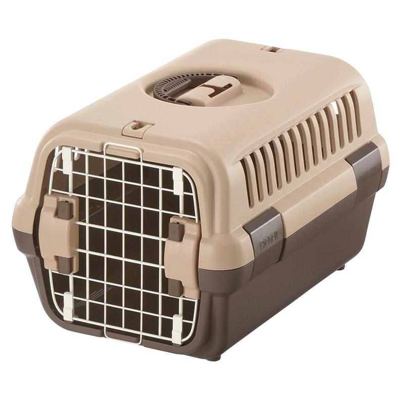 犬用キャリーバッグ 驚きの価格が実現 直送商品 カート リッチェル ダークブラウン キャンピングキャリー S