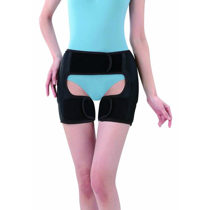 股関節 痛み サポーター 男女兼用 デラックス股関節ベルト かるかる滑節 両足用 股関節サポーター 股関節ベルト 歩行補助 整体 骨盤補正 骨盤 矯正 送料無料