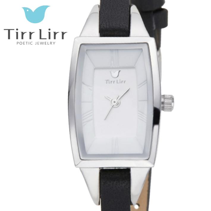 公式ライセンス 正規品 TirrLirr TIRRLIRR ティルリル 腕時計 ジュエリー ウォッチ レディース ブランド 革ベルト 人気 プレゼント twc-003BK