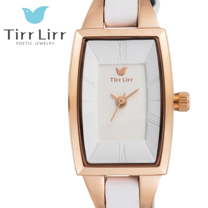 公式ライセンス 正規品 TirrLirr TIRRLIRR ティルリル 腕時計 ジュエリー ウォッチ レディース ブランド 革ベルト 人気 プレゼント twc-003WH