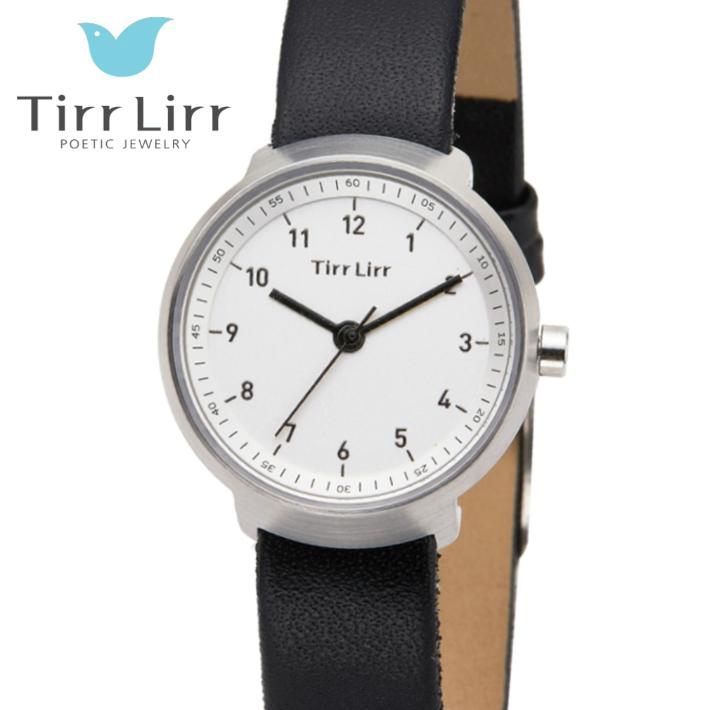 公式ライセンス 正規品 TirrLirr TIRRLIRR ティルリル 腕時計 ジュエリー ウォッチ レディース ブランド 革ベルト 人気 プレゼント twc-004BK