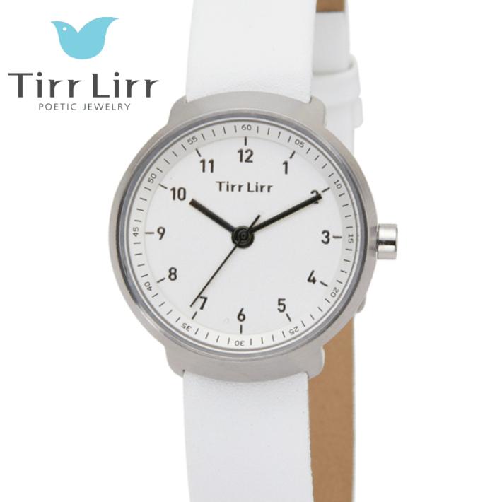 公式ライセンス 正規品 TirrLirr TIRRLIRR ティルリル 腕時計 ジュエリー ウォッチ レディース ブランド 革ベルト 人気 プレゼント twc-004WH