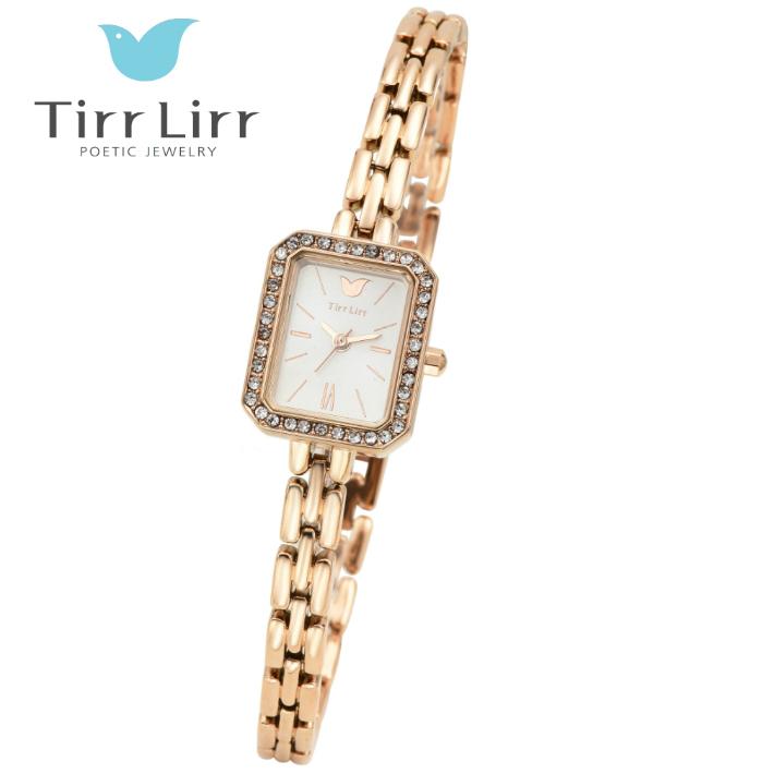 公式ライセンス 正規品 TirrLirr TIRRLIRR ティルリル 腕時計 ジュエリー ウォッチ レディース ブランド 人気 プレゼント twc-102PG