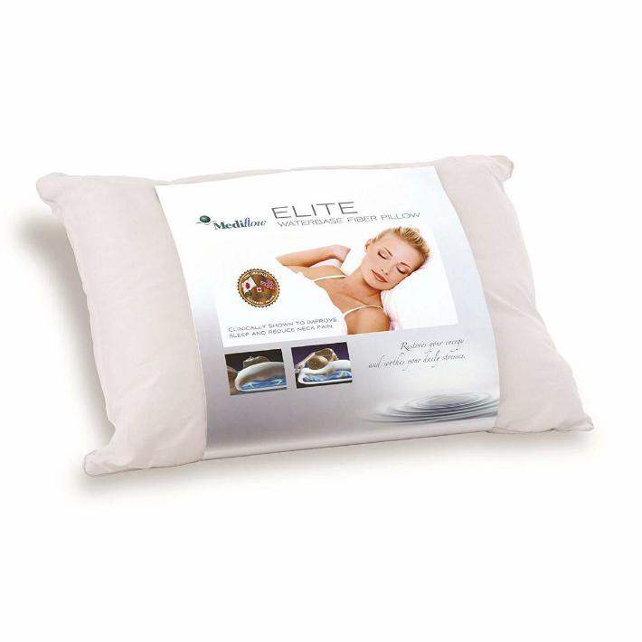 Mediflow メディフロー ウォーターベース ファイバーピロー エリート 枕カバー付 国内検査正規輸入品 送料無料