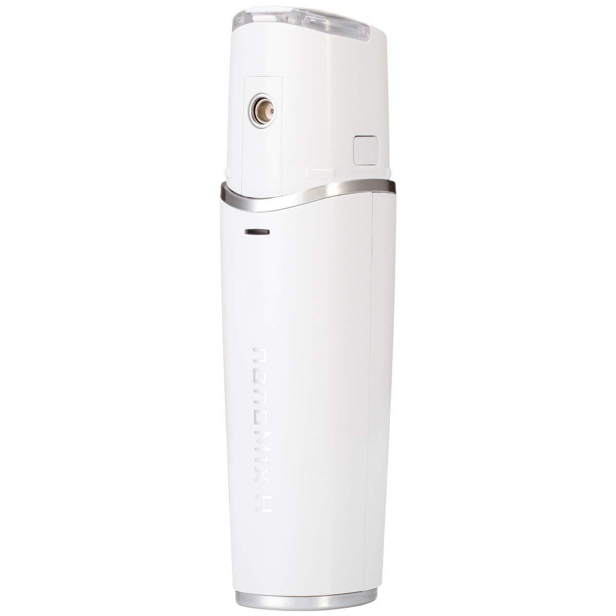ハンディミスト nanoMix H / ナノミックス ハンディ ホワイト TIMELAB 美容液 化粧水 保湿 スキンケア 美顔器 送料無料