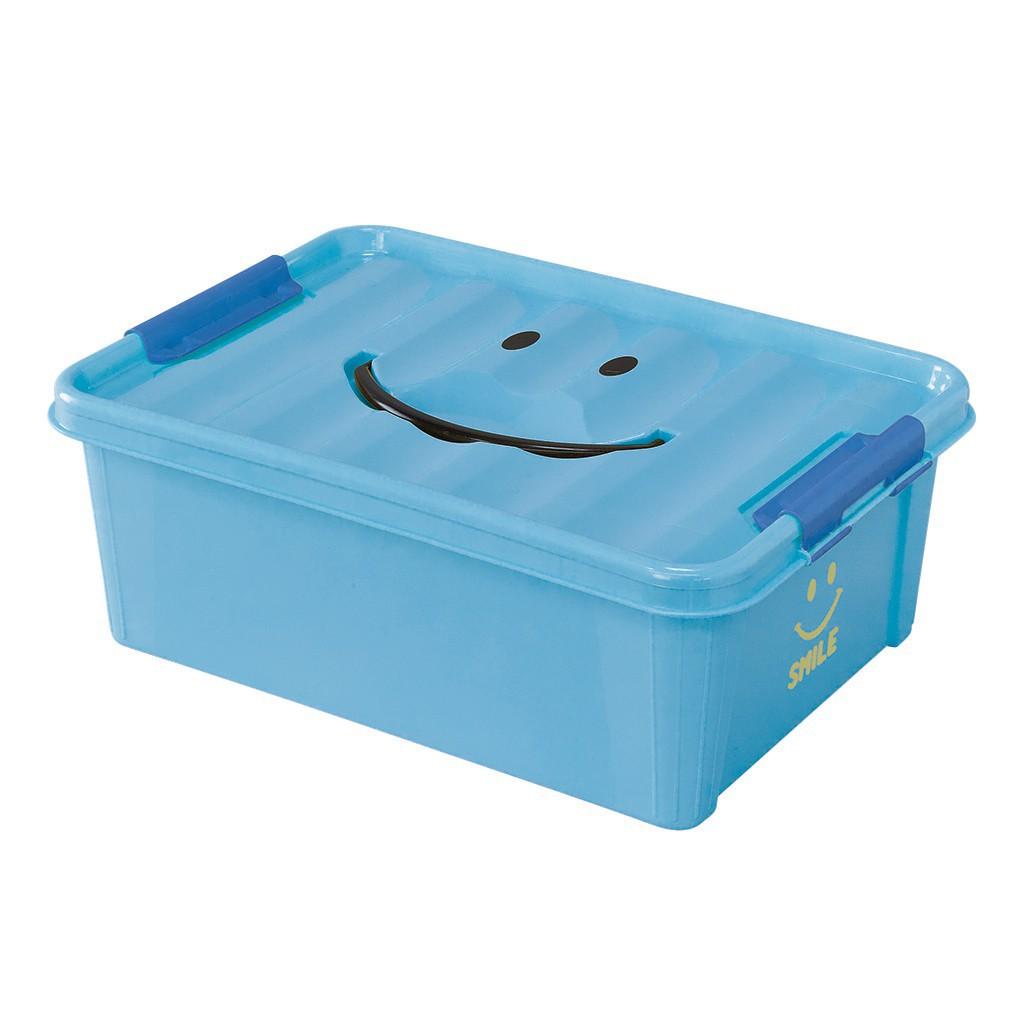 にっこり笑顔がかわいいフタ付き収納 新品 送料無料 通信販売 スマイルボックス Sサイズ