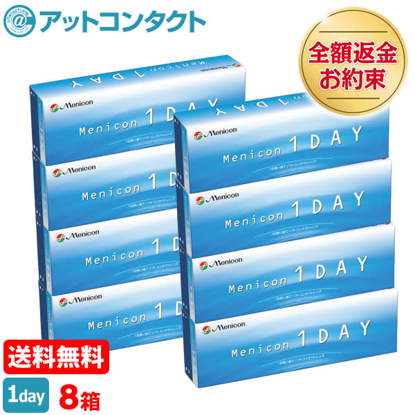 【送料無料】メニコンワンデー 8箱セット 1日使い捨て コンタクトレンズ