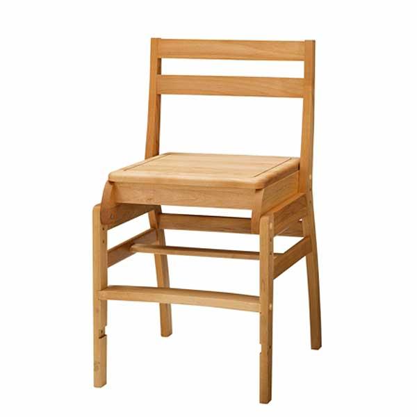 木製学習チェア ダックNo.6 (板座)