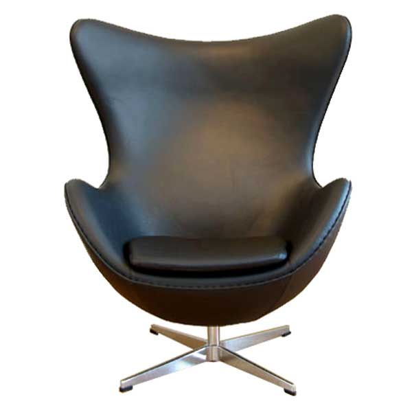 Egg Chair EGG CHAIR アルネ Jacobsen Leather Type, Genuine Leather Tension  Reprography And Consultant Duct North European Modern Lounge Chair