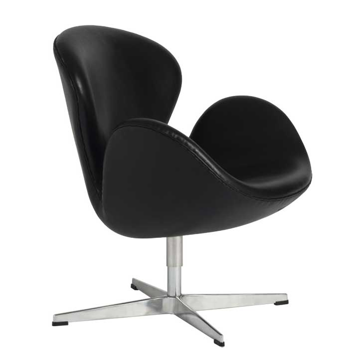 Swan Chair SWAN CHAIR アルネ Jacobsen Leather Type, Genuine Leather Tension  Reprography And Consultant Duct North European Modern Lounge Chair